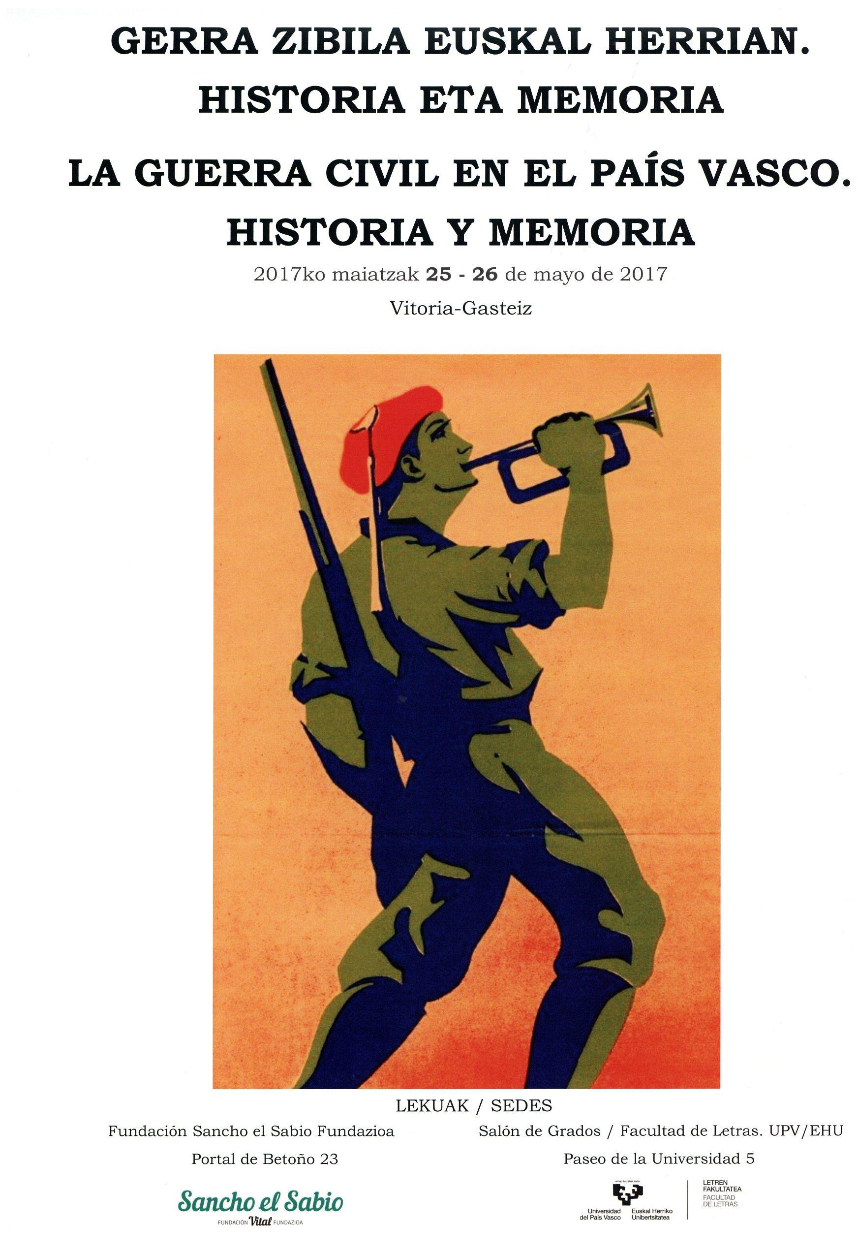 Resultado de imagen de gerra zibila euskal herrian. historia eta memoria